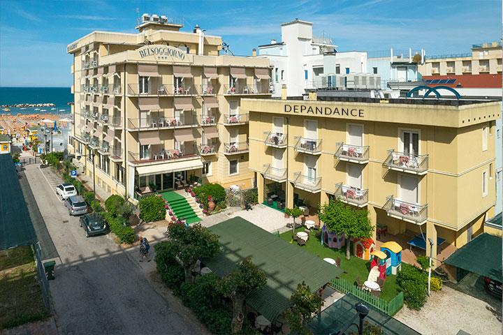 Hotel 3 Stelle a Cattolica Direttamente Sul Mare - Hotel Belsoggiorno